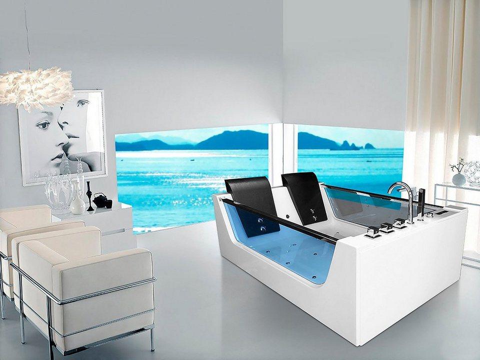 whirlpoolwanne cadiz xl b t h in cm 180 120 60 otto. Black Bedroom Furniture Sets. Home Design Ideas