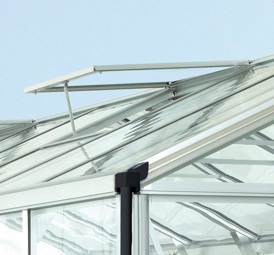 VITAVIA Dachfenster , ohne Verglasung, blank-eloxiert