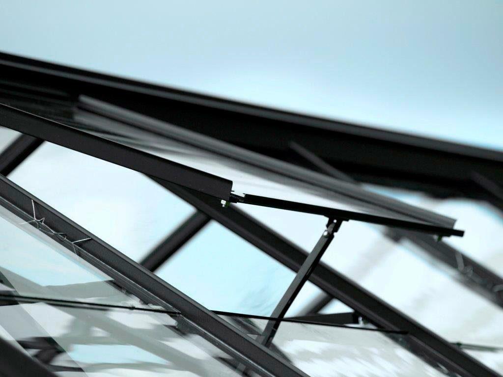 VITAVIA Dachfenster , ohne Verglasung, schwarz