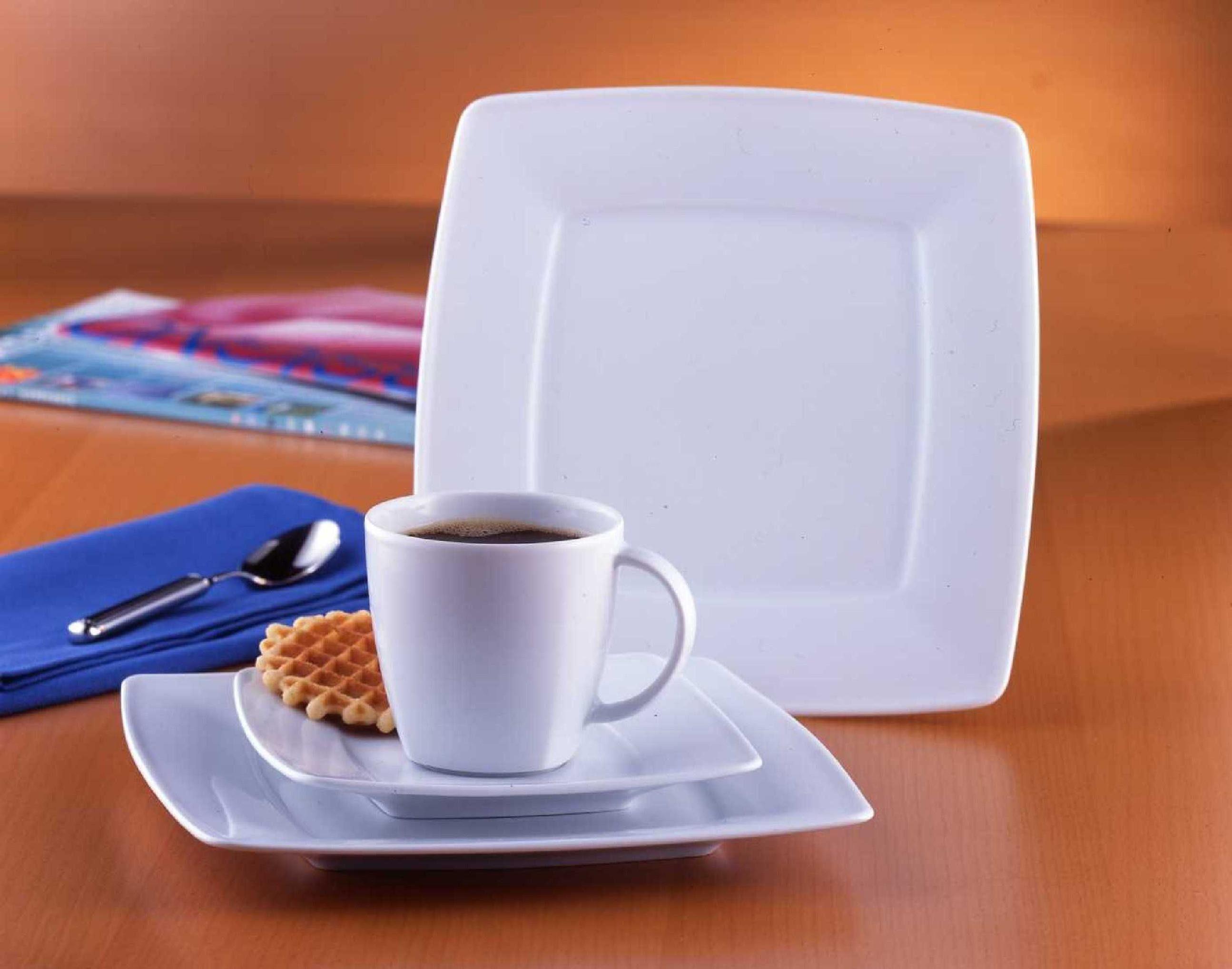 Van Well Kaffeeservice, Porzellan, 18 Teile, für 6 Personen, »Classico«