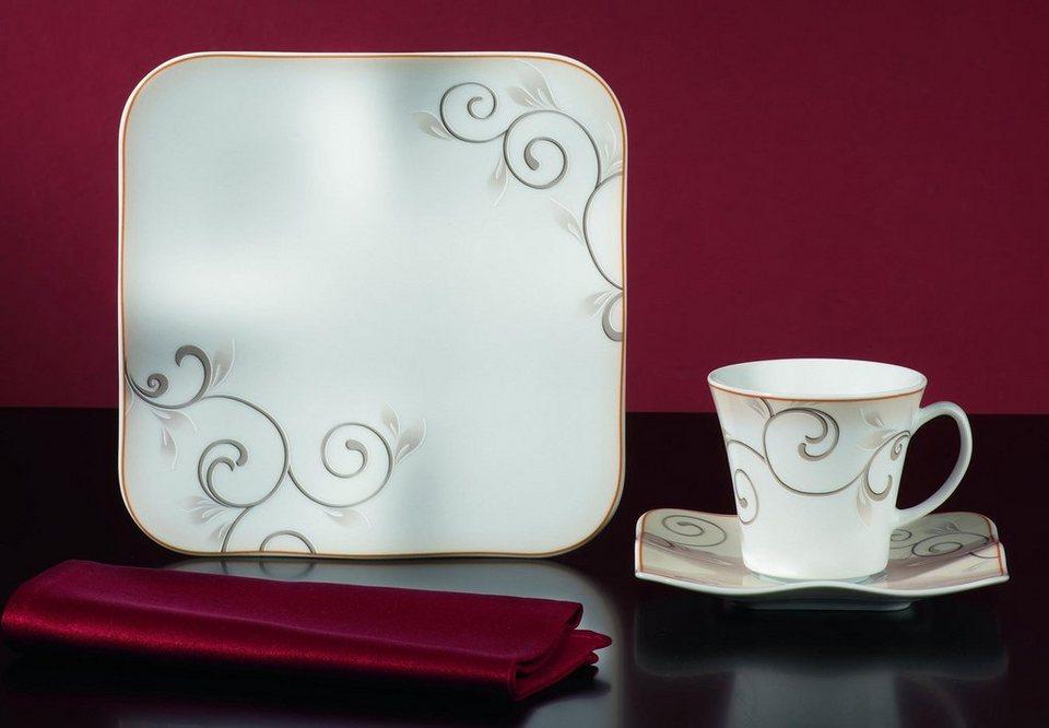 van well kaffeeservice chateau 18 tlg porzellan sp lmaschinengeeignet online kaufen otto. Black Bedroom Furniture Sets. Home Design Ideas