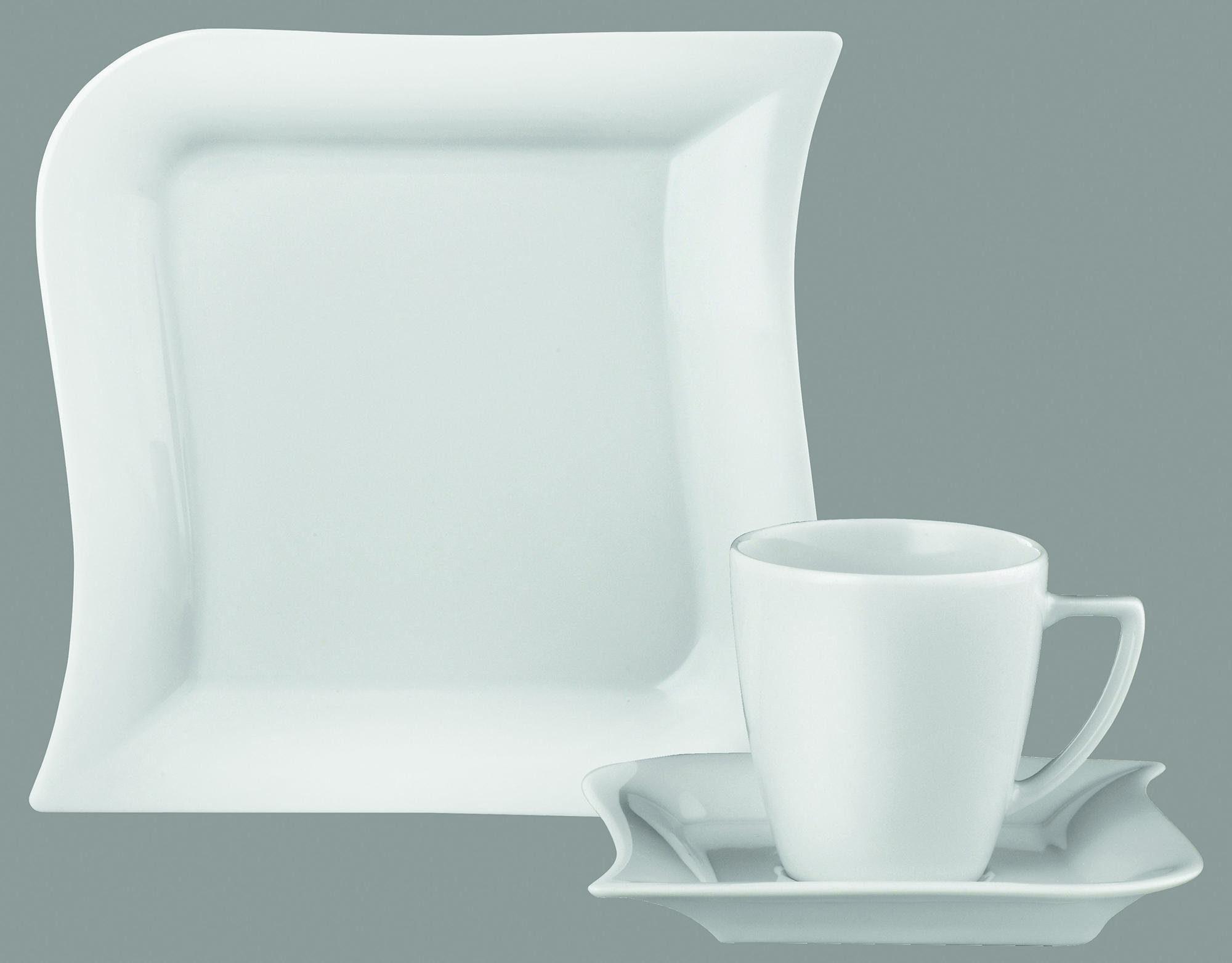 Van Well Kaffeeservice, Porzellan, 18 Teile, für 6 Personen, »Opera«