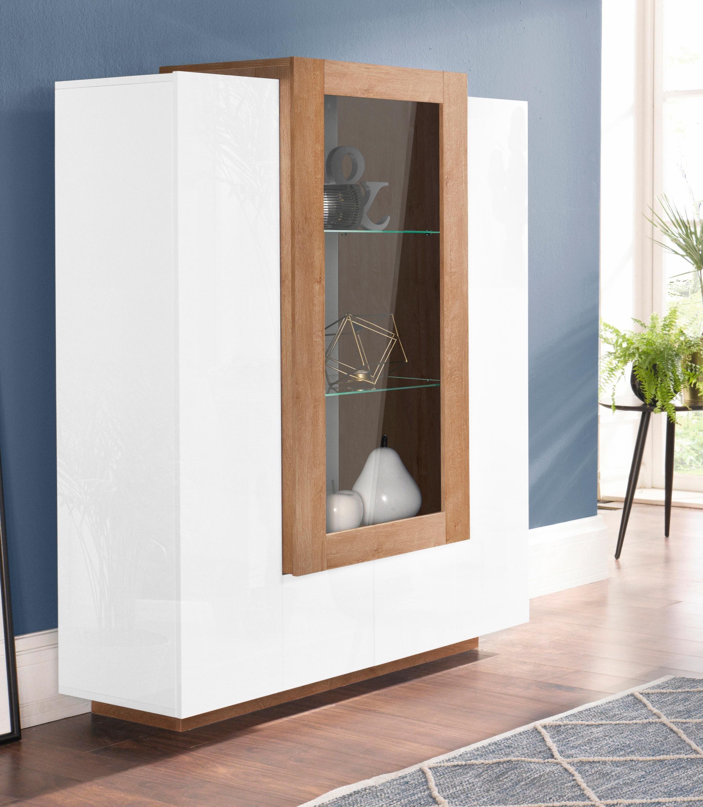 weiss-lackiert Standvitrinen online kaufen | Möbel-Suchmaschine ...