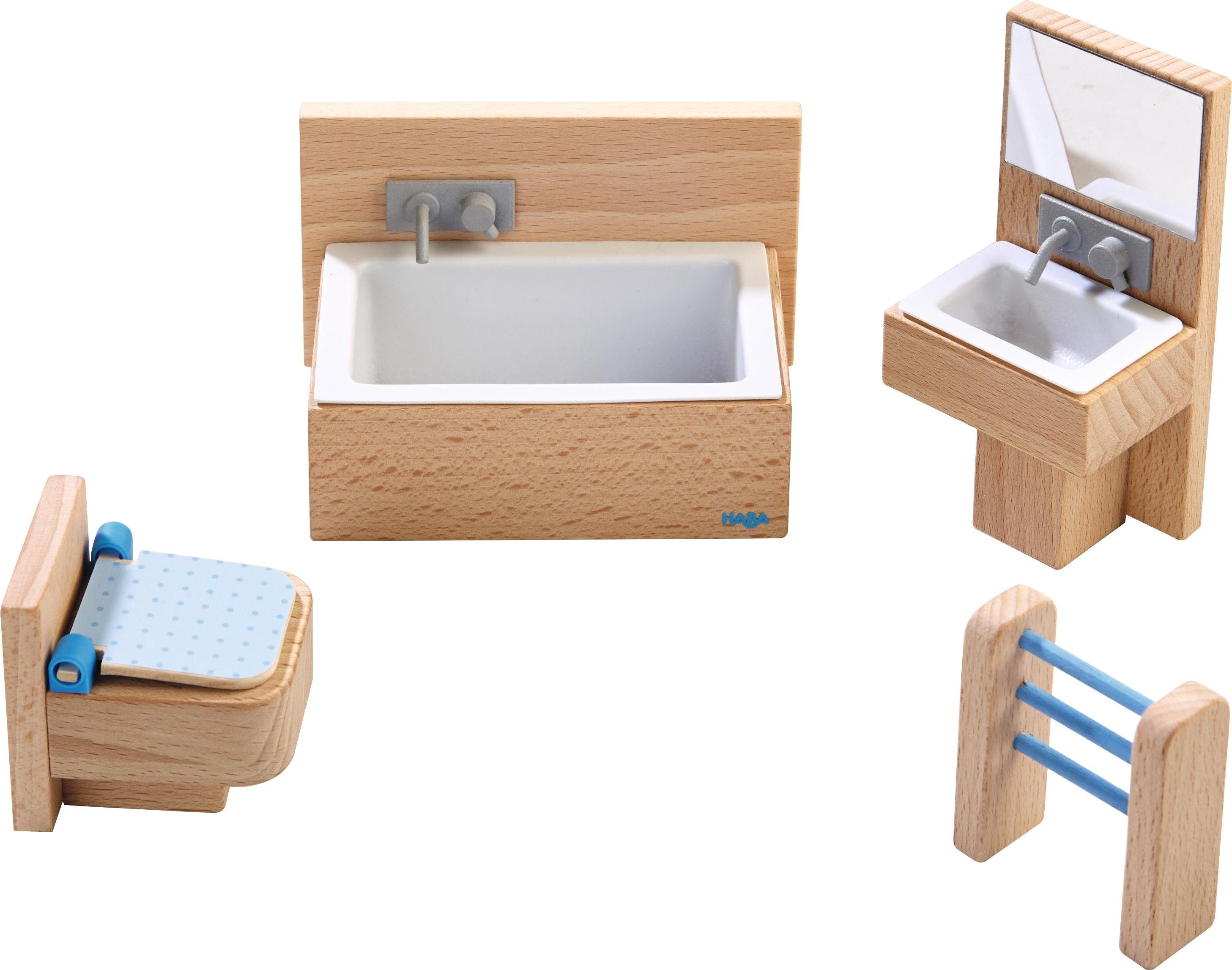 HABA® Puppenhausmöbel, »Little Friends - Badezimmer«