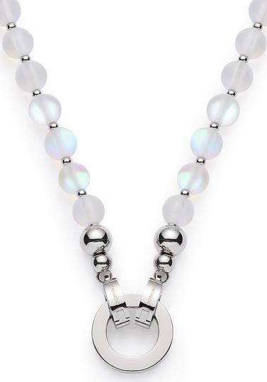 LEONARDO Charm-Kette »Catania Darlin´s, 016479« mit Glasperlen | Schmuck > Armbänder > Armketten | Weiß | LEONARDO