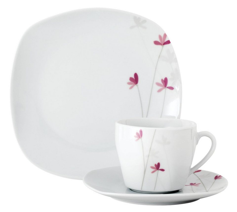 van well kaffeeservice colette 18 tlg porzellan sp lmaschinengeeignet online kaufen otto. Black Bedroom Furniture Sets. Home Design Ideas