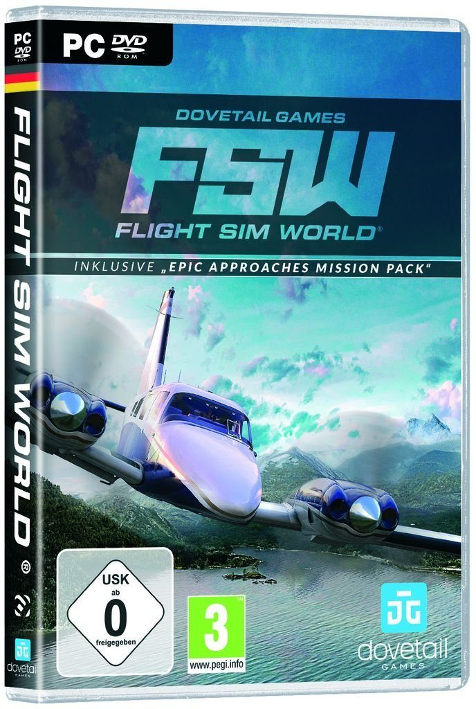 Astragon PC - Spiel »Flight Sim World«