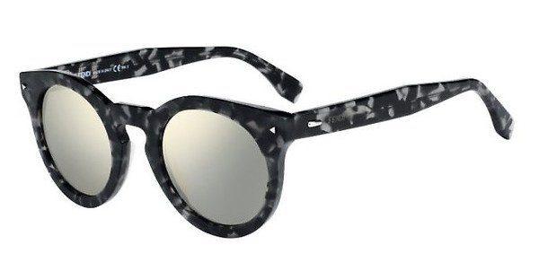 FENDI Fendi Herren Sonnenbrille » FF M0017/S«, schwarz, WR7/QT - schwarz/grün