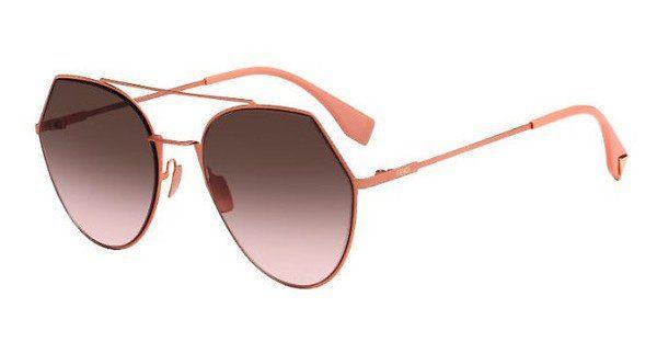 FENDI Fendi Damen Sonnenbrille » FF 0194/S«, orange, 733/53 - orange