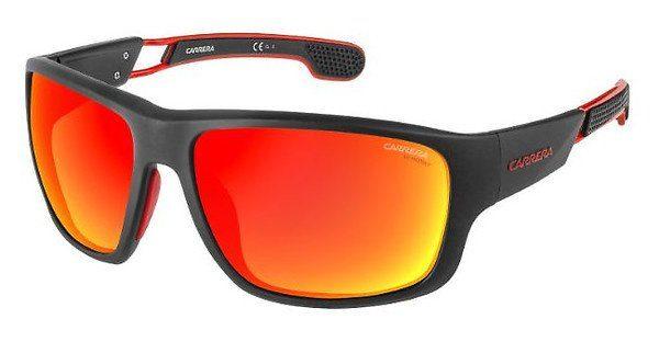 Carrera Eyewear Herren Sonnenbrille » CARRERA 4007/S«, weiß, 6HT/UZ - weiß/rot