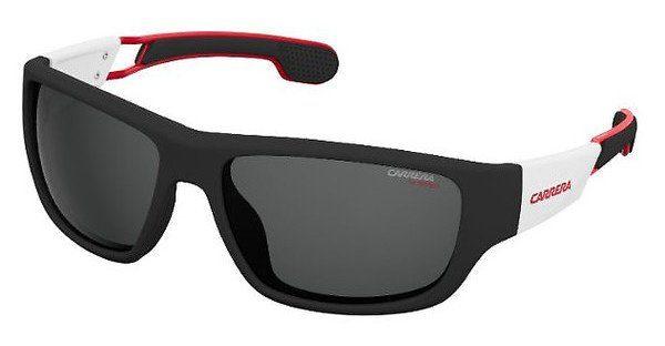 Carrera Eyewear Herren Sonnenbrille » CARRERA 4008/S«, schwarz, 4NL/IR - schwarz/grau