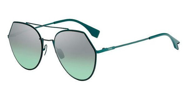 FENDI Fendi Damen Sonnenbrille » FF 0194/S«, grün, 1ED/GY - grün/ grün