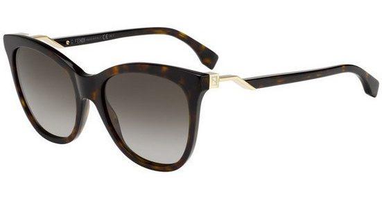 FENDI Damen Sonnenbrille »FF 0200/S«