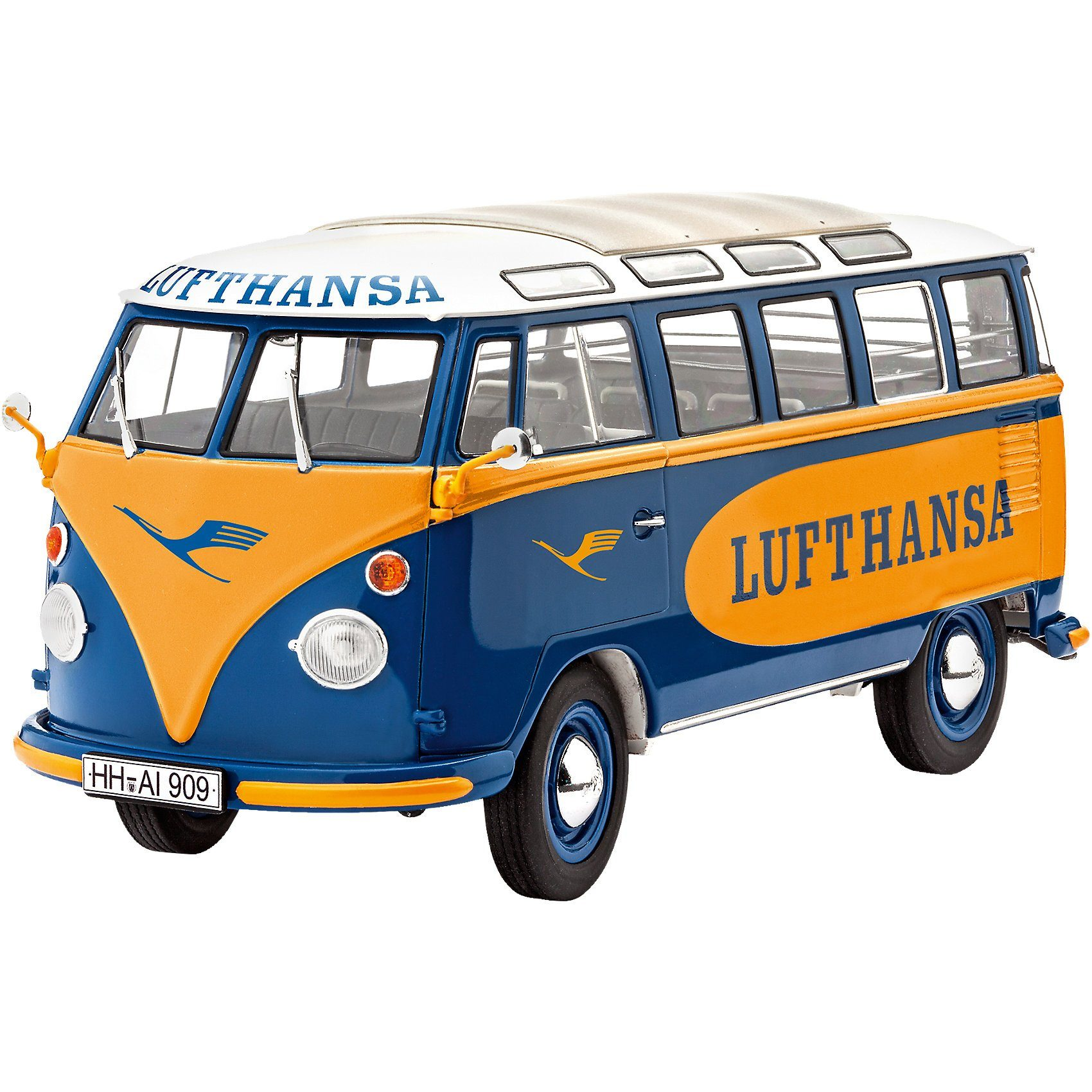 "Revell Modelbausatz VW T1 Samba Bus ""Lufthansa"""