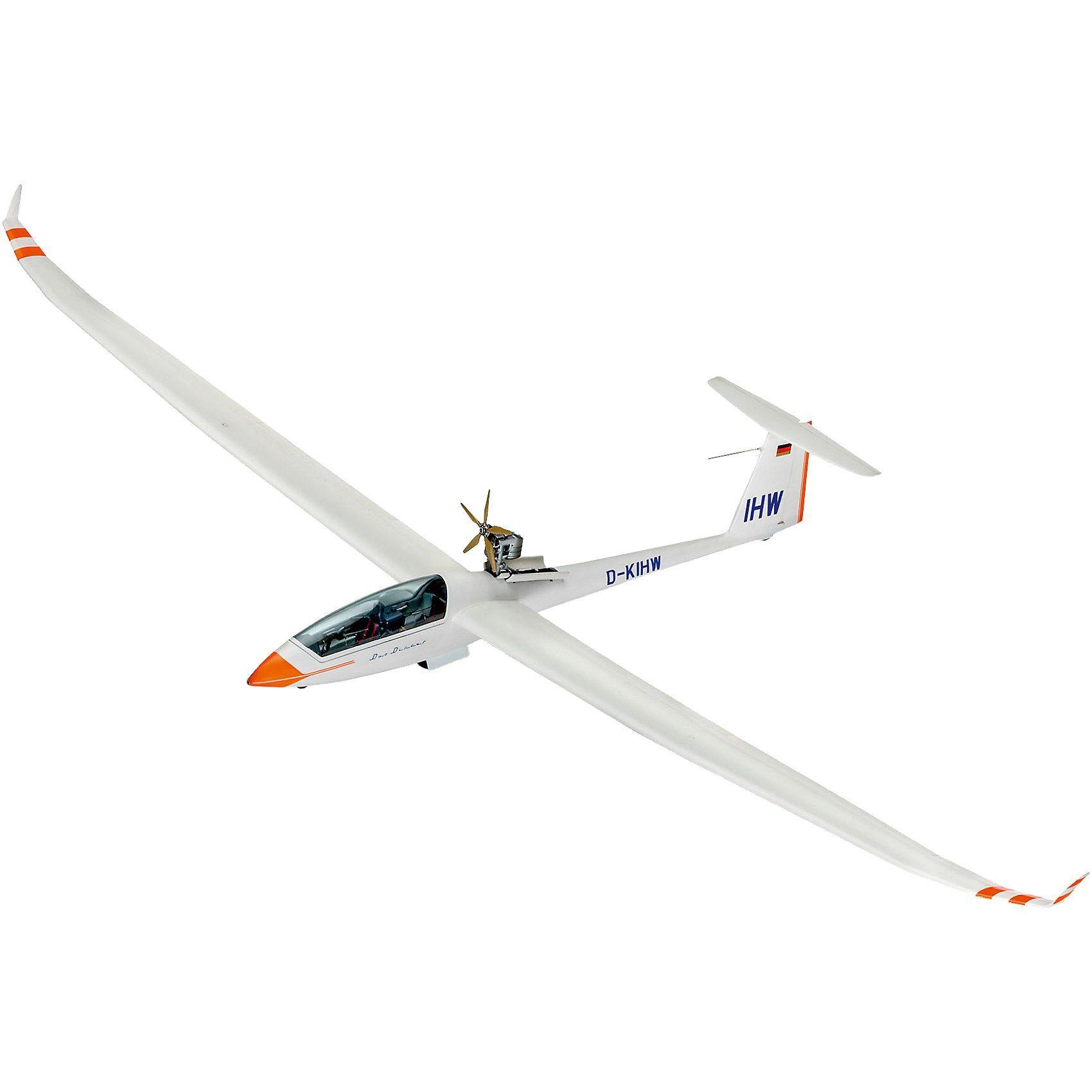 Revell® Modelbausatz Glider Duo Discus & Engine Segelflugzeug
