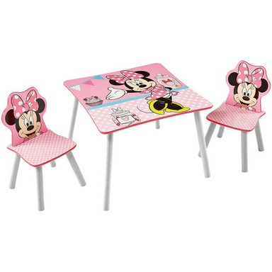 WORLDS APART Kindersitzgruppe 3-tlg., Minnie Mouse, Punkte