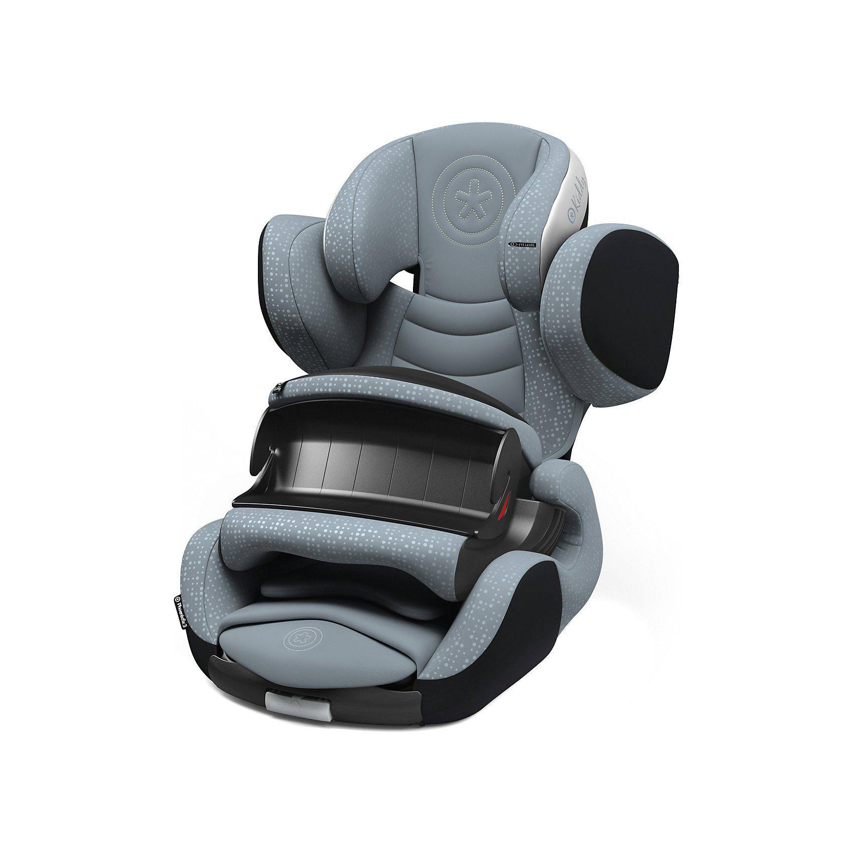 kiddy Auto-Kindersitz Phoenixfix 3, Polar Grey, 2018