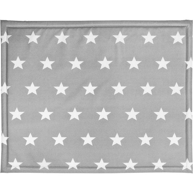 Laufgitter - Jollein Laufgittereinlage, Little Star, grau, 75 x 95 cm  - Onlineshop OTTO