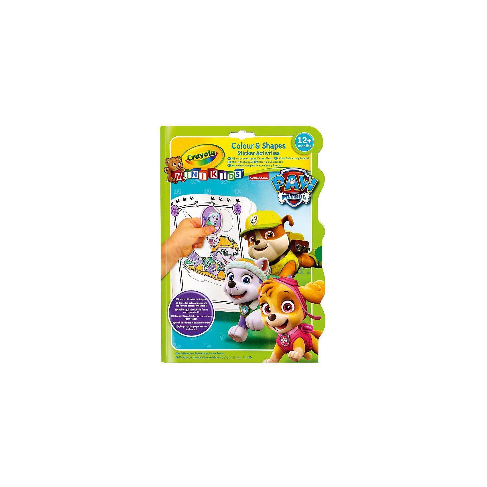 Crayola® PAW Patrol - MINI KIDS Mal- und Stickerspaß