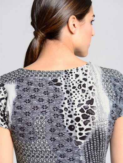 Alba Moda Shirt in wunderschönen Mustermix