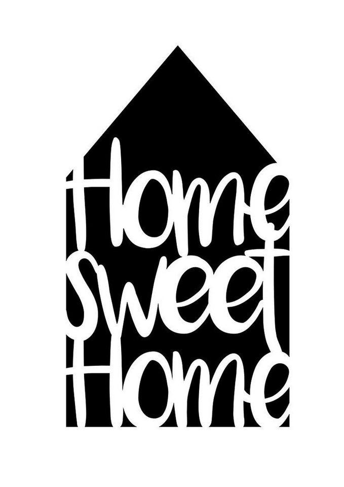 "Viva Decor Schablone ""Home sweet Home"" DIN A4"