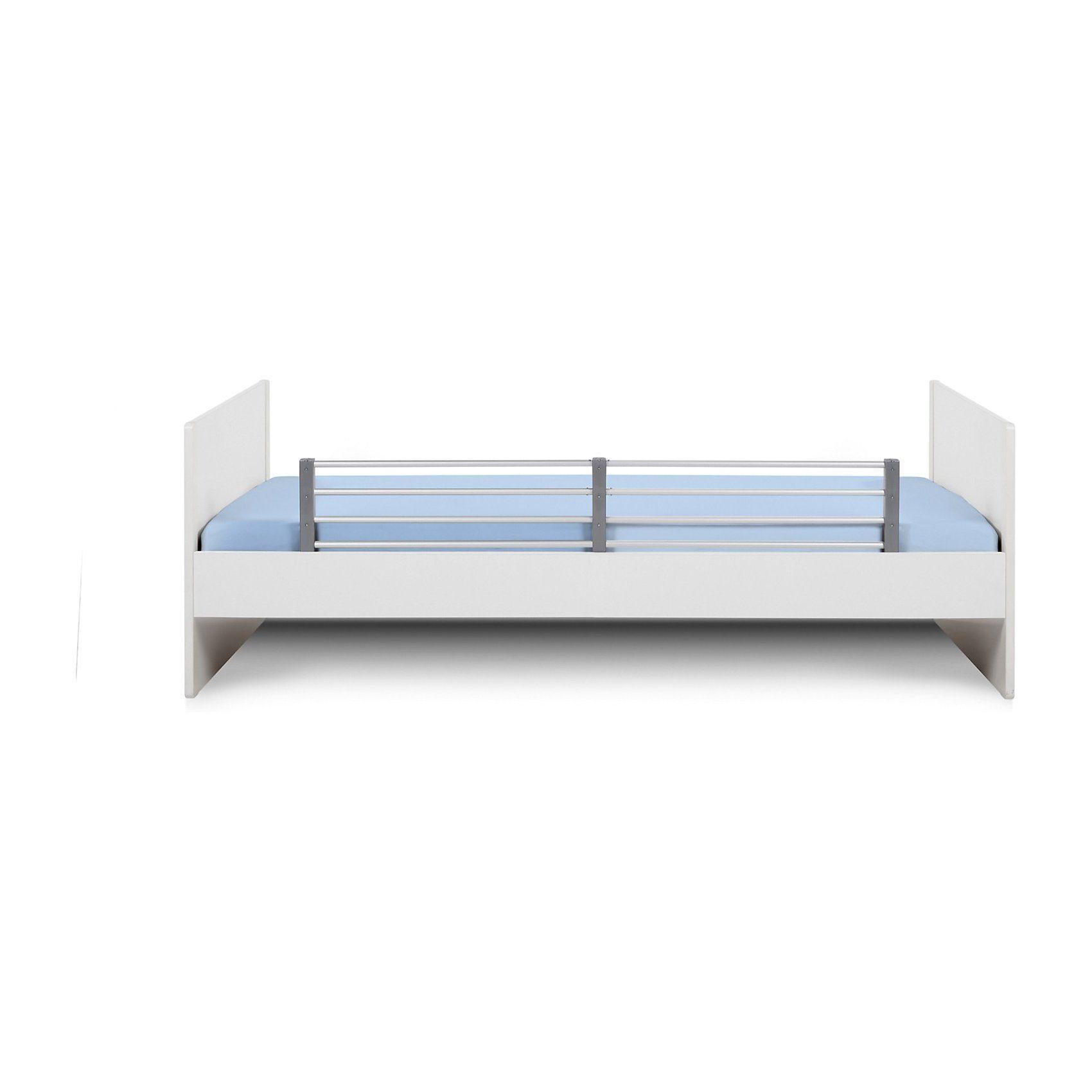 Reer Bettschutzgitter, ausziehbar, Länge 80 - 140 cm, weiß