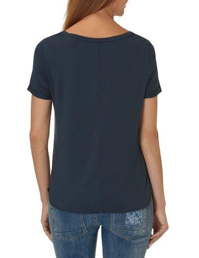 """Betty&Co Shirt """"grey"""" mit Rundhalsausschnitt"""