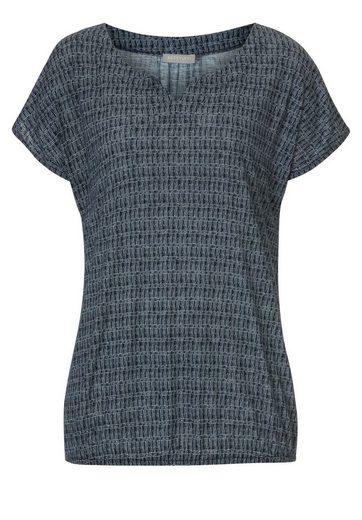 Betty&Co Shirt mit geometrischem Allover Muster