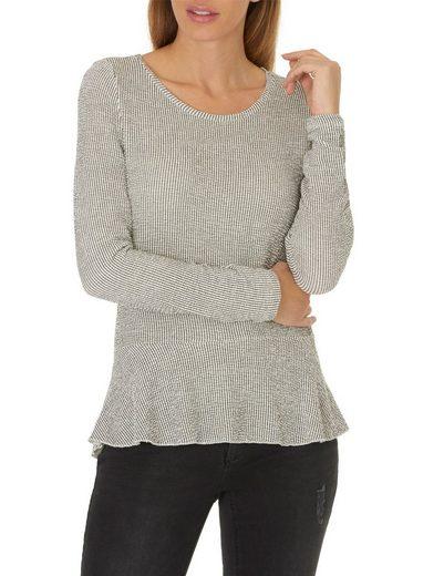 Betty&Co Shirt mit Streifen und Rundhals