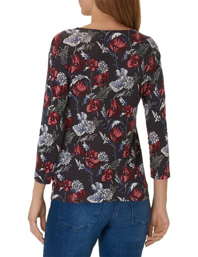 Betty&Co Shirt mit Allover Blumen Print