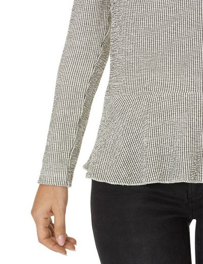 Betty & Co Shirt With Stripes And Round Neck