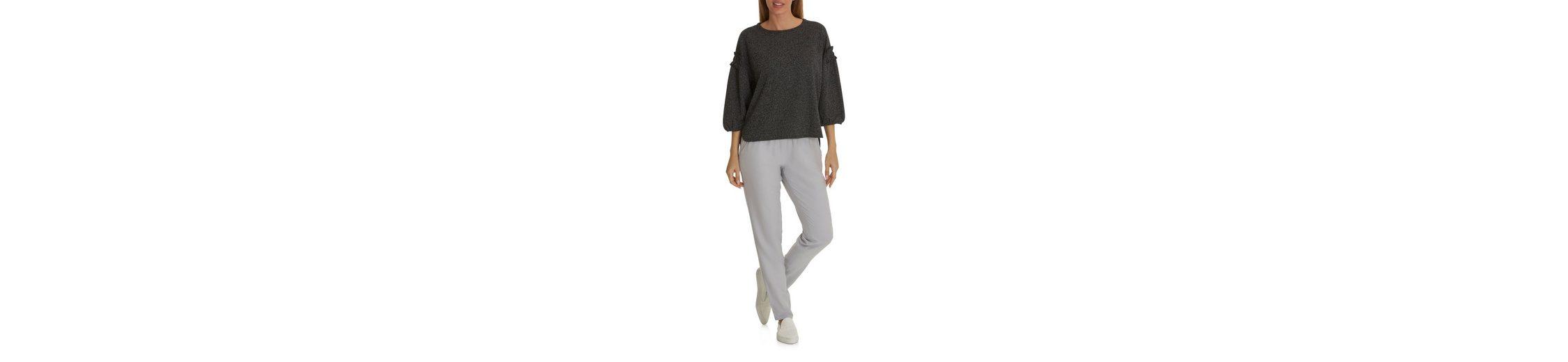 Niedrige Versandgebühr Günstiger Preis Betty&Co Sweatshirt mit Raffung Billig Heißen Verkauf Rabatt Footlocker nhMzrw5F