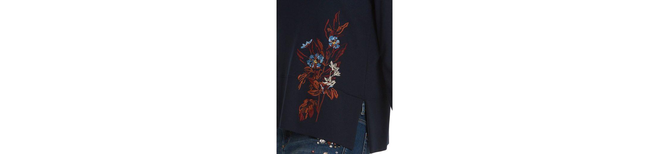 Original Rabatt Sammlungen Betty&Co Sweatshirt mit Blumen-Stickerei Bestes Geschäft Zu Bekommen Spielraum Finden Große 0sijT6p