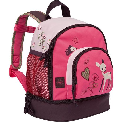 Lässig Kindergarten Rucksack 4kids, Mini Backpack Little Tree, Fawn
