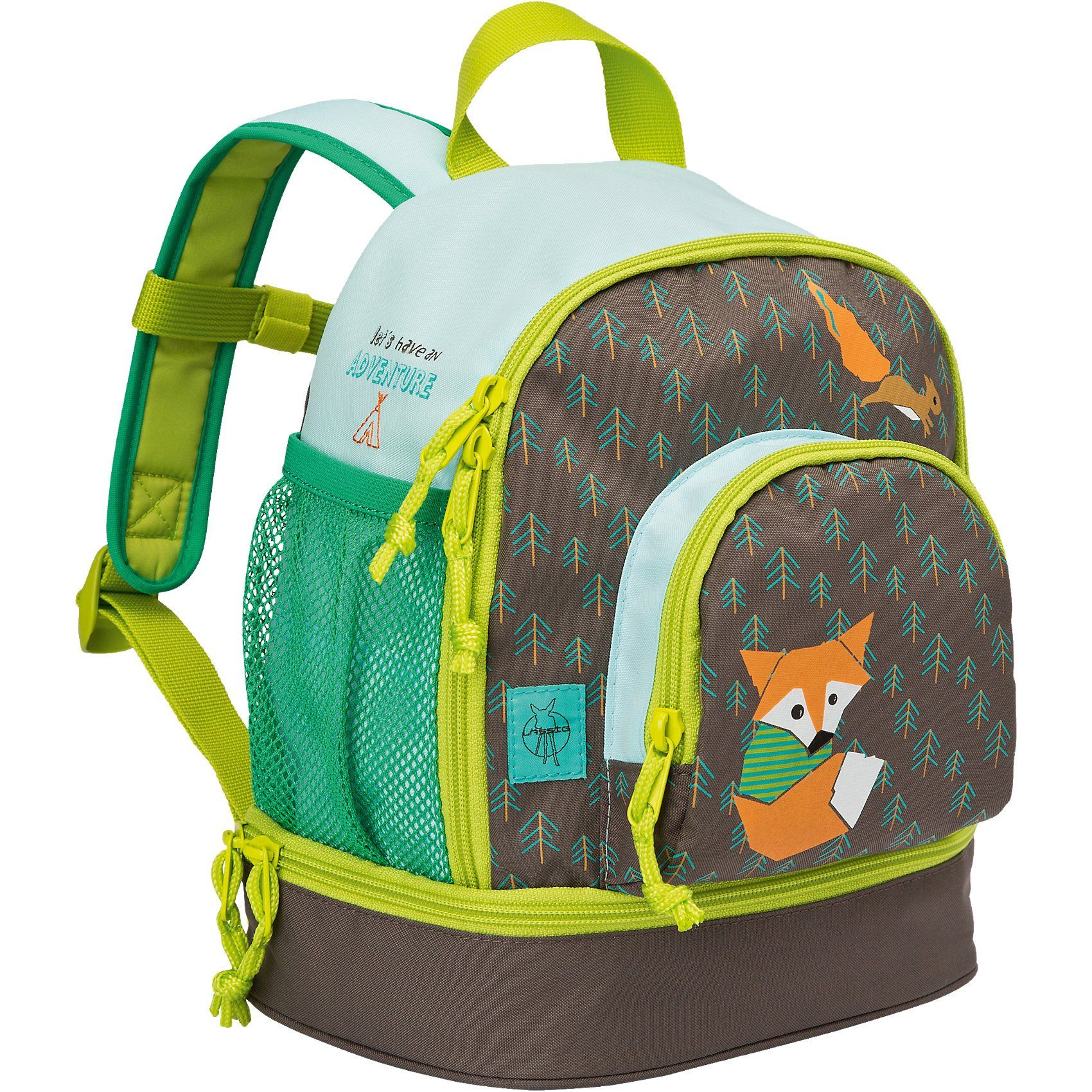 Lässig Kindergarten Rucksack 4kids, Mini Backpack, Little Tree, Fox