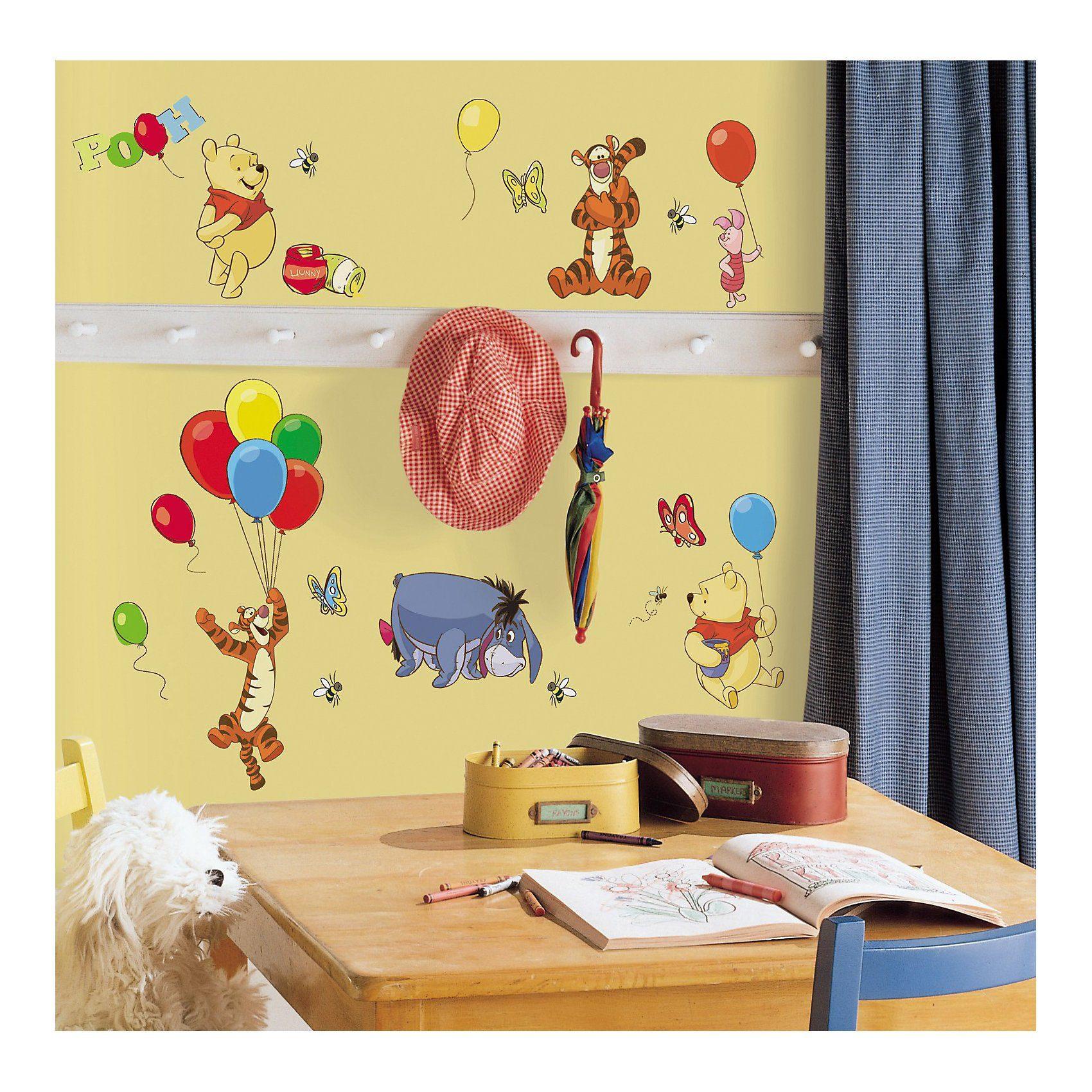 RoomMates Wandsticker Winnie the Pooh, 38-tlg.