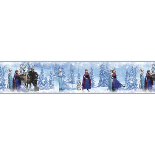 RoomMates Bordüre Die Eiskönigin, 4,5 m x 13 cm