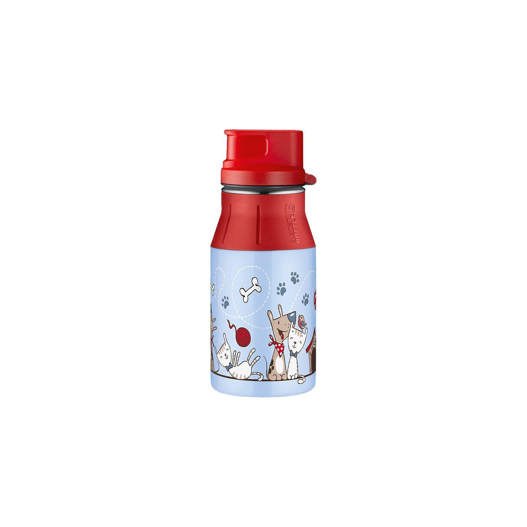 Alfi Trinkflasche elementBottle Cat & Dog, 400 ml