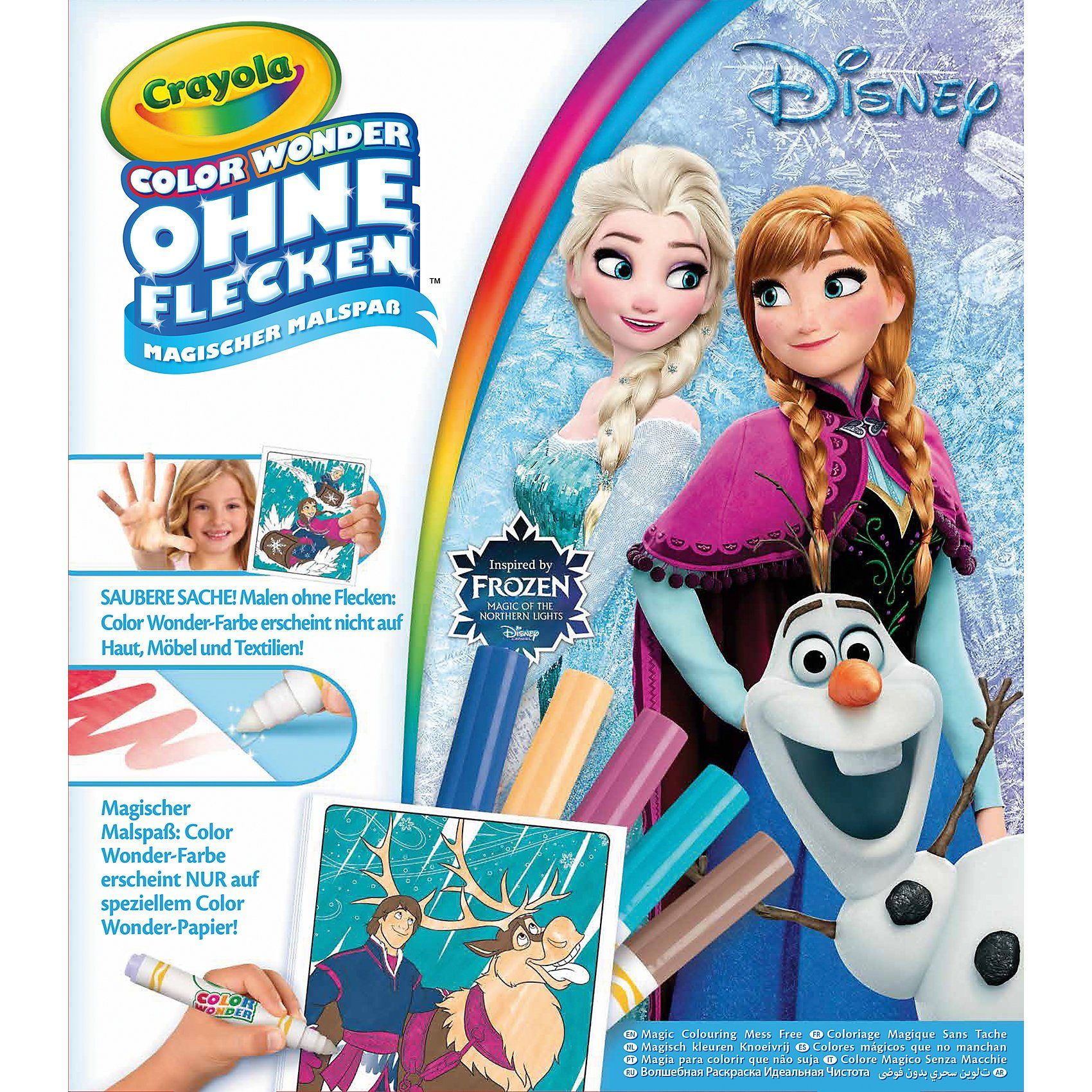 Crayola Color Wonder Magischer Malspaß - Frozen