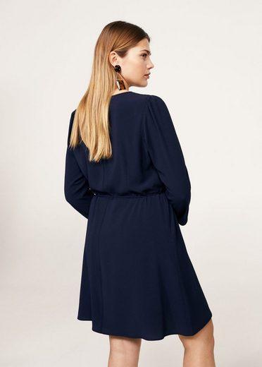 VIOLETA by Mango Fließendes Kleid mit Gürtel