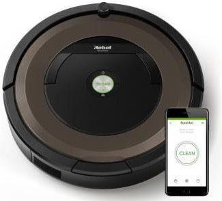 iRobot Saugroboter iRobot Roomba 896, 30 Watt, beutellos, Appfähig: iRobot HOME App