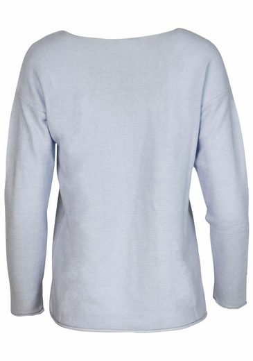 Pull Coeur Double Col Rond