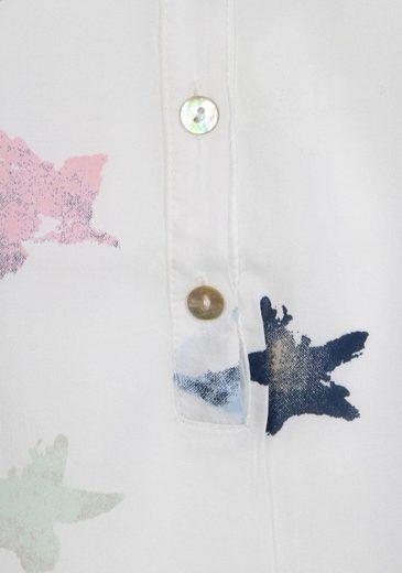Zwillingsherz Schlupfbluse, mit Sternendruck