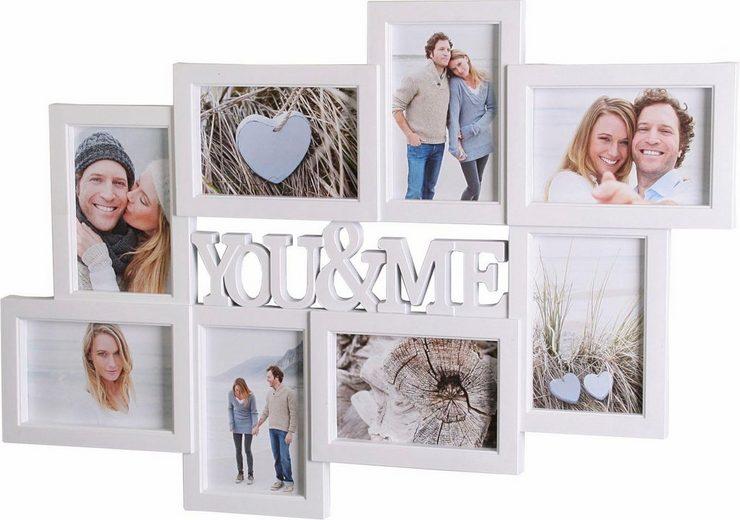 Home affaire Galerierahmen »You & Me«, für 8 Bilder