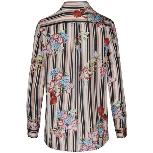 Seidensticker Shirt Blouse Black Rose, Collar
