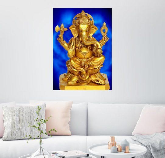 Posterlounge Wandbild - Enri-Art »Ganesha«