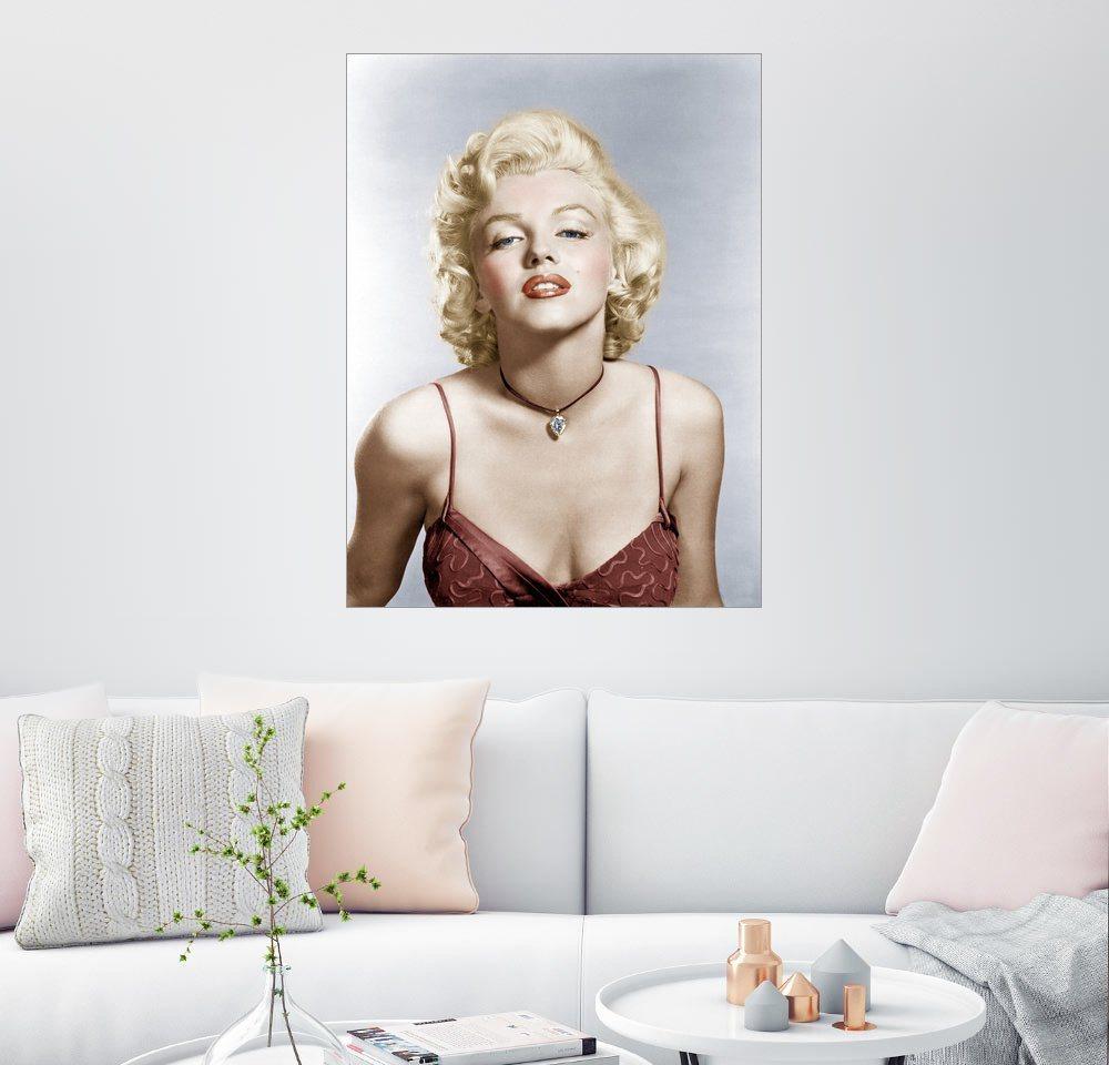 Posterlounge Wandbild »Marilyn Monroe« | Dekoration > Bilder und Rahmen > Bilder | Holz | Posterlounge