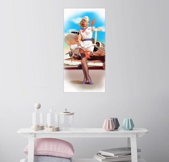 Posterlounge Wandbild - Tanja Doronina »Freches Lüftchen«