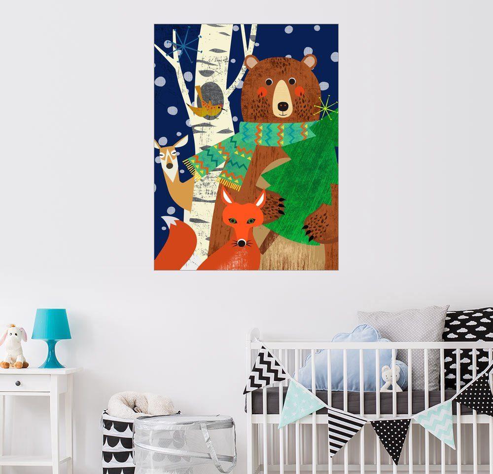 Posterlounge Wandbild - Elisandra Sevenstar »Woodland Holliday«