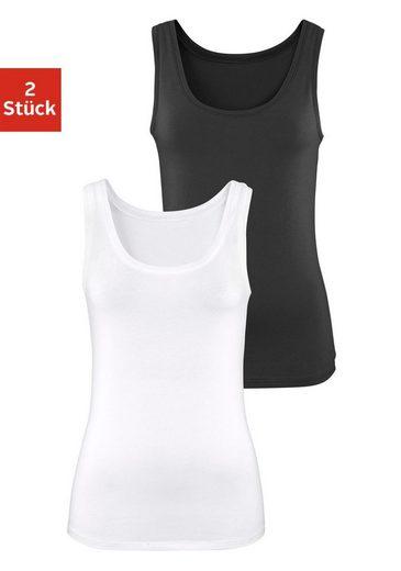 s.Oliver Bodywear Tanktop (2er-Pack)